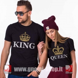 King & Queen 9m gold