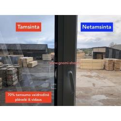 Stiklu tamsinimas-tonavimas iš lauko 70% veidrodinė plėvelė